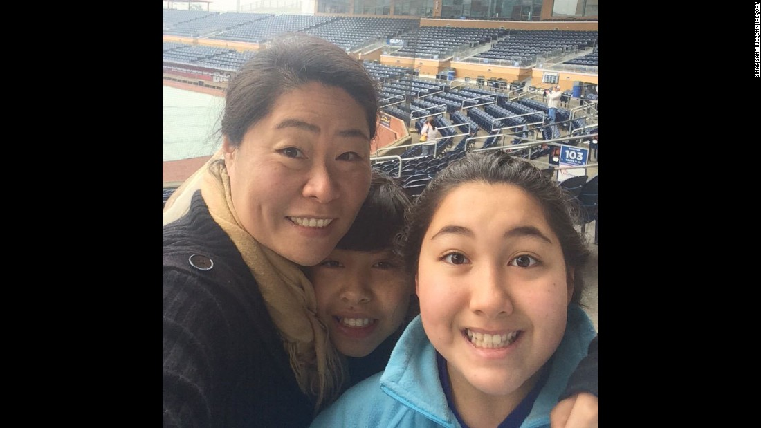 """I have always wanted to sing the National Anthem at the Durham Bulls baseball game. When I heard they were holding auditions at the ball park, I told the kids that for once, mommy will be auditioning."" -- Sinae Santillo, Chapel Hill, North Carolina"