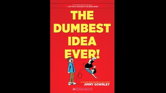 """""""The Dumbest Idea Ever!"""" by Jimmy Gownley, a graphic novel, was chosen as the fifth grade to sixth grade book of the year."""