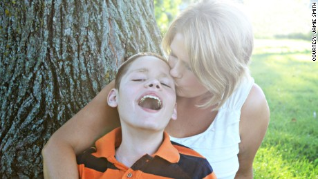 """I lost my 12-year-old son Zach on Mother's Day weekend 2013. I'm proud of myself because I have survived."" -- Rachele Chrismer"