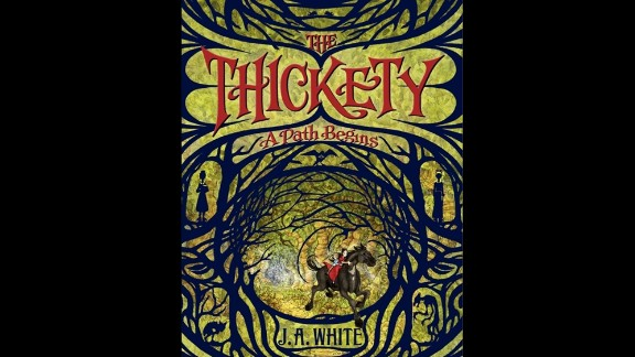 """J.A. White, who wrote """"The Thickety: A Path Begins,""""  was chosen as the children's choice debut author."""