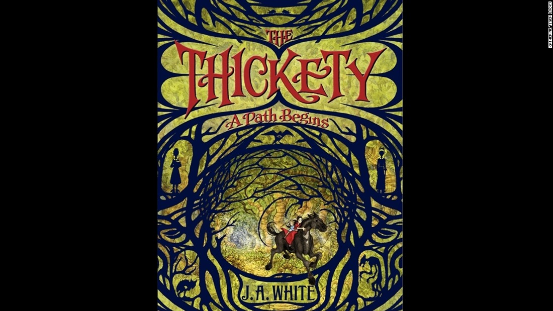 "J.A. White, who wrote ""The Thickety: A Path Begins,""  was chosen as the children's choice debut author."