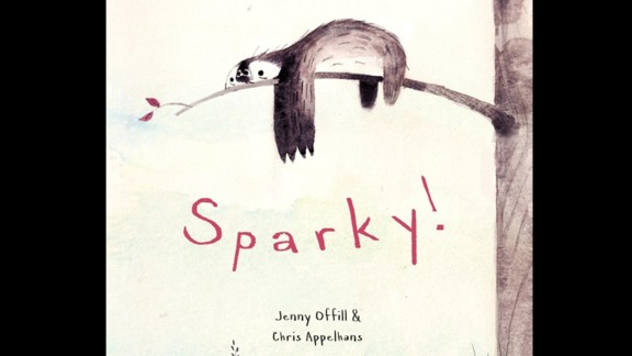 """Chris Appelhans was selected as the children's choice illustrator for his work on """"Sparky!"""" by Jenny Offill."""
