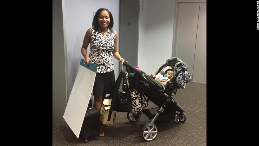 """No one prepared me for just how difficult it would be balancing working full-time in upper management, nursing, pumping and caring for an infant! However, I stuck with it and made it work through lots of trial and error."" -- Aaliyah A. Samuel, Phoenix"