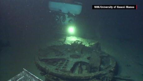 Missing Japanese WWII submarine airplane hangar found
