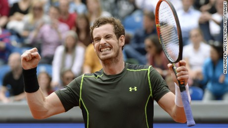 Andy Murray defeated German Philipp Kohlschreiber in the Munich Open final.