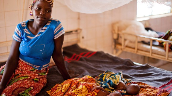 175. Niger is in the bottom five countries in Save the Chidlren's Mothers' Index. Hassana and Housseina, 5-week-old twins, are shown with their mother, Nana, at a Save the Children-supported center for treatment of severe malnutrition cases with complications in Aguie.