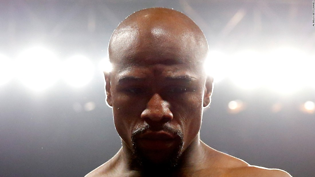 "Floyd Mayweather Jr. stands in the ring before the <a href=""http://www.cnn.com/2015/05/02/sport/gallery/pacquiao-mayweather/index.html"">welterweight unification championship bout</a> on Saturday, May 2, in Las Vegas. <a href=""http://www.cnn.com/2015/05/03/sport/mayweather-pacquiao-fight/"">Mayweather outboxed and outmaneuvered Manny Pacquiao</a> to claim a unanimous points victory in the most lucrative boxing match in history, taking his unblemished professional record to 48-0 and cementing his place as one of the greatest fighters of all time."