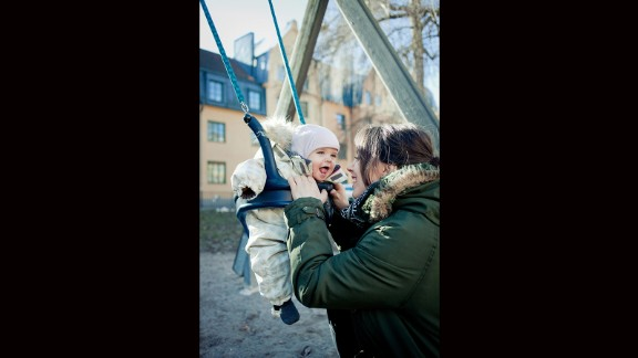 5. Sweden rounds out the top five best countries on the 2015 Mothers' Index.