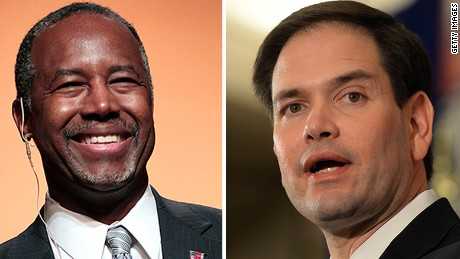 Questions about Carson and Rubio's pasts