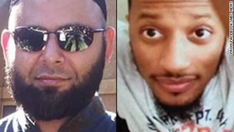 Nadir Soofi, left, and Elton Simpson are the two suspects in the Garland, Texas shooting.