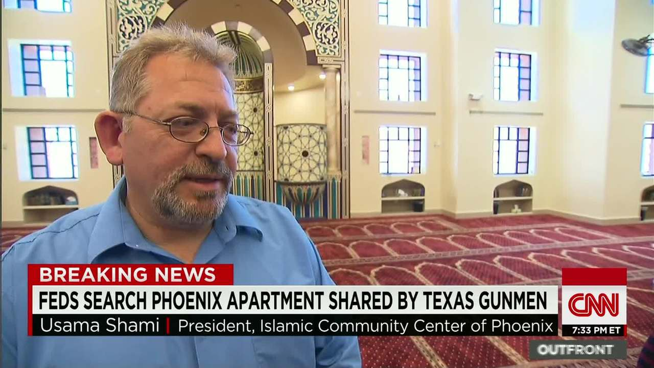 Mosque president 'shocked' by Garland shooting - CNN Video