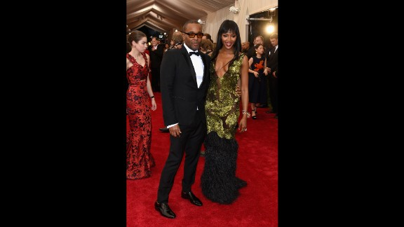 Lee Daniels and Naomi Campbell