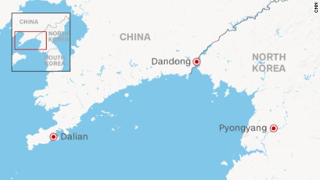 Joo says he crossed into North Korea near the Great Wall of China in Dandong.