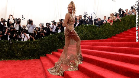 76fffe64e63 Beyonce arrives at the Metropolitan Museum of Art  39 s Costume Institute  Gala in