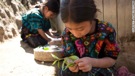 Many children in Guatemala consume enough calories to ward off hunger, but their bodies are still starved for nutrients.