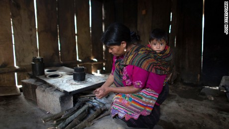 Chronic malnutrition is highest in indigenous Mayan communities, which also have high rates of poverty.
