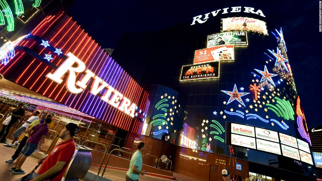 The venerable Riviera Hotel & Casino has its last night of operation on Sunday, May 3, in Las Vegas. The city's Convention and Visitors Authority purchased the 60-year-old property and plans to demolish it to make room for more convention space. Here's a look back at the Riviera's colorful history: