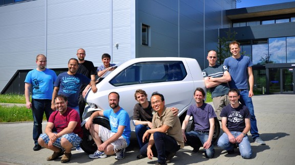 While they have had little success selling the system to large-scale manufacturers, they are continuing to work on autonomous features for the electric vehicle such as auto pilot and self parking.