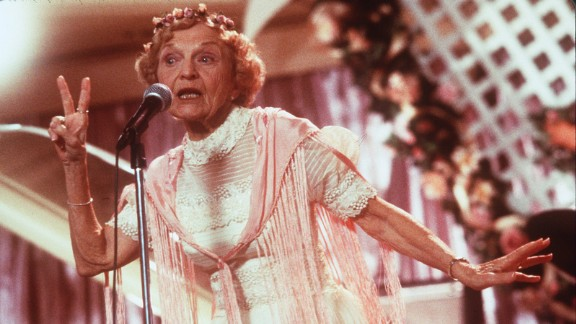 "Ellen Albertini Dow, perhaps best known as the rapping granny in the 1998 movie ""The Wedding Singer,"" died May 5 at the age of 101. She also appeared in ""Wedding Crashers"" and dozens of TV shows."
