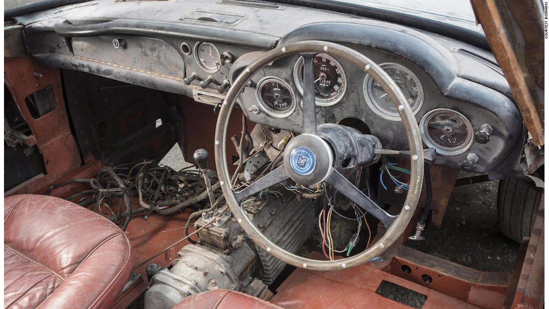 Everything in the car is original, including the interior. Work on the engine has already been completed.