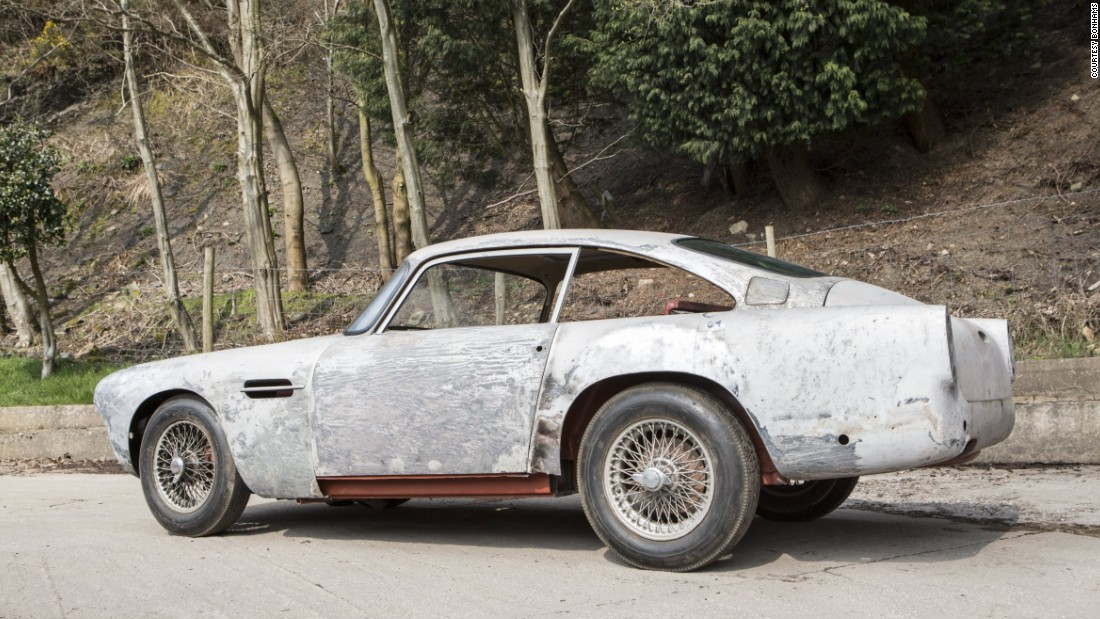 A testament to how valuable Aston Martins from the 1960s are, this car in its current condition is estimated to sell for well over $300,000. The buyer will presumably finish the restoration project that was first started by the current owner 33 years ago.