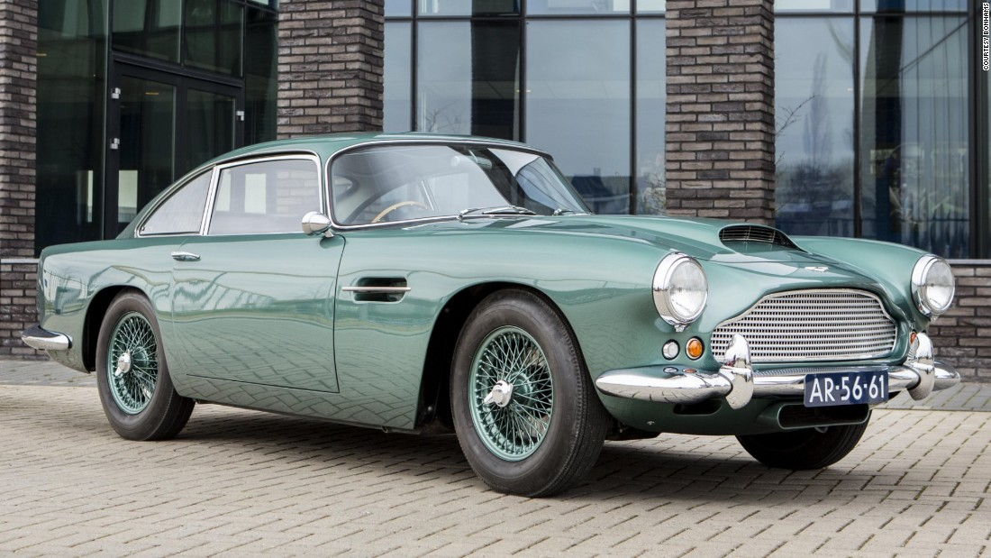 "Fully restored and graced with an ""attractive color combination"", this 1961 DB4 could go for as much as $700,000."