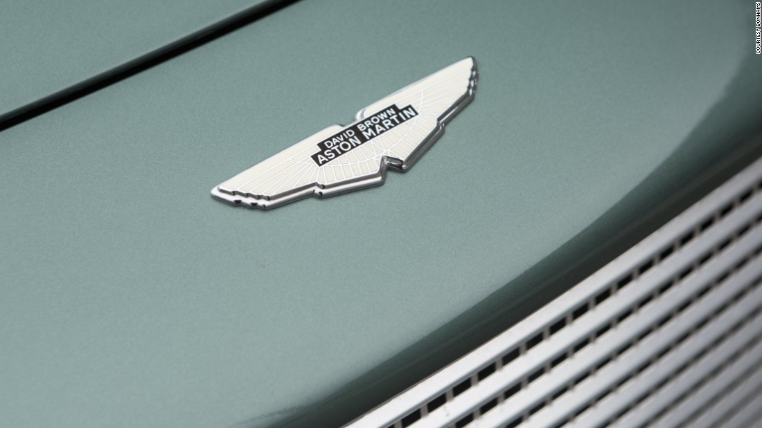 Sir David Brown was the owner of Aston Martin from 1947 to the 1970s. The classic 'DB' monicker comes from his initials.