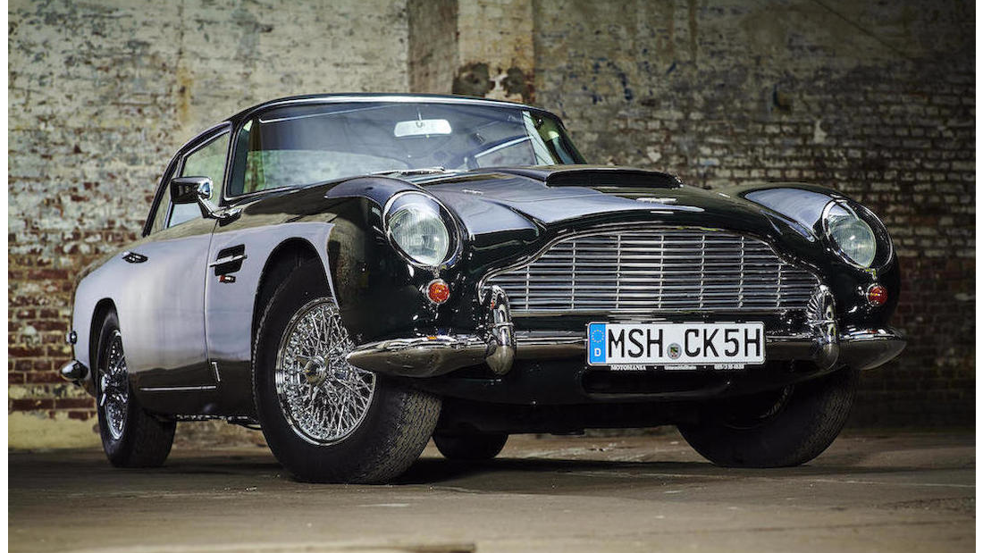 "Another classic ""James Bond"" DB5. This one has been converted from right to left-hand drive."