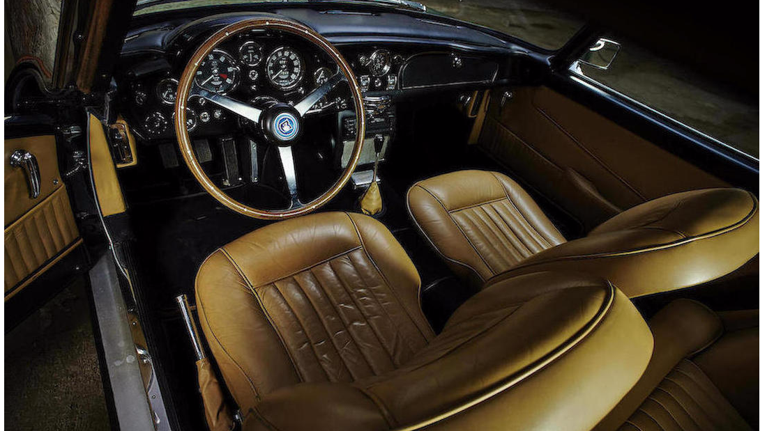 The fully restored car should bring in between $690,000 and $760,000.