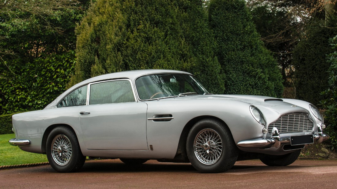 The Most Famous Of All James Bond Aston Martins, This Legendary DB5 Model  Is One