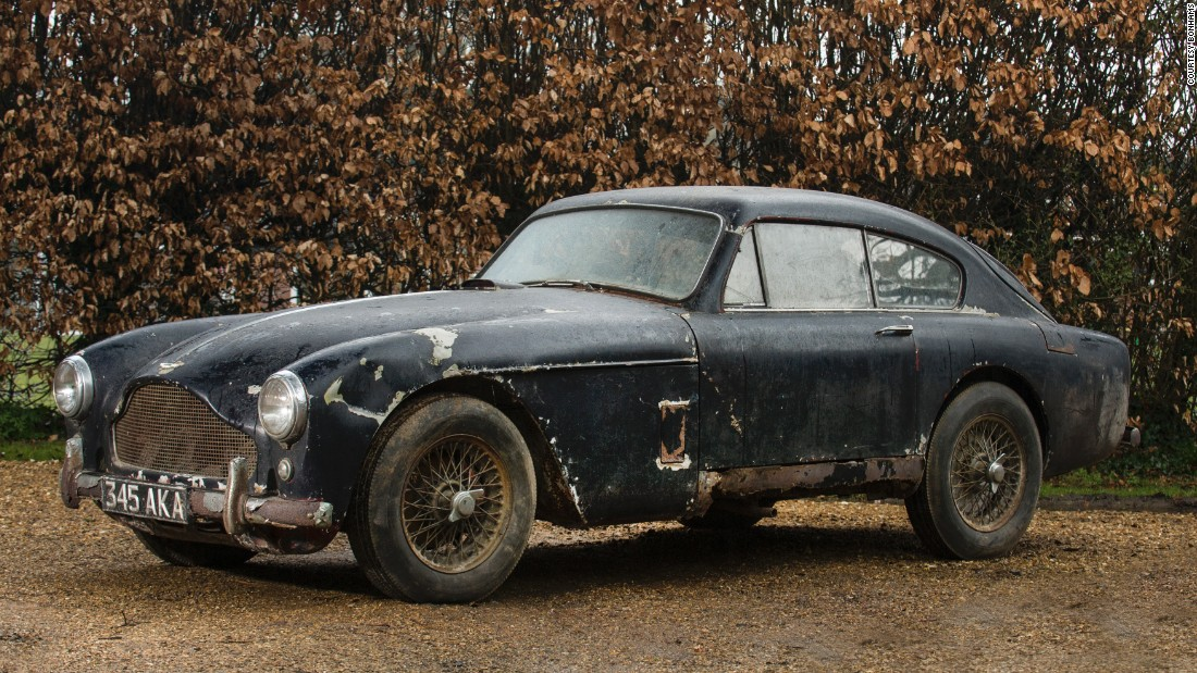 Another car looking for someone who wants to embark on a restoration project, this 1958 original DB is among the cheapest of the sale: it should sell for less than $75,000.