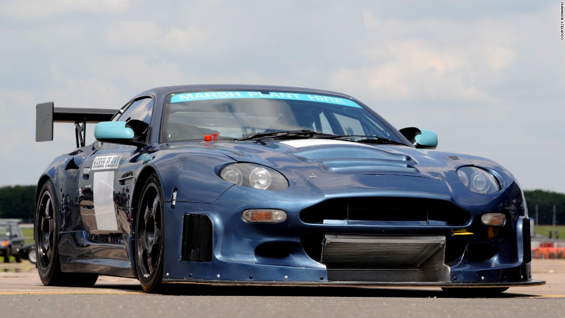 Another thoroughbred racer, this 2004 DB7 offers nearly 600 bhp and is eligible for competition. It should go for about $100,000.