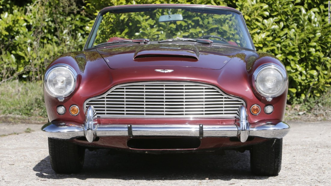 Another exceedingly rare model: only nine DB4 Series IV convertibles exist. This one should sell for about $1.4 million.
