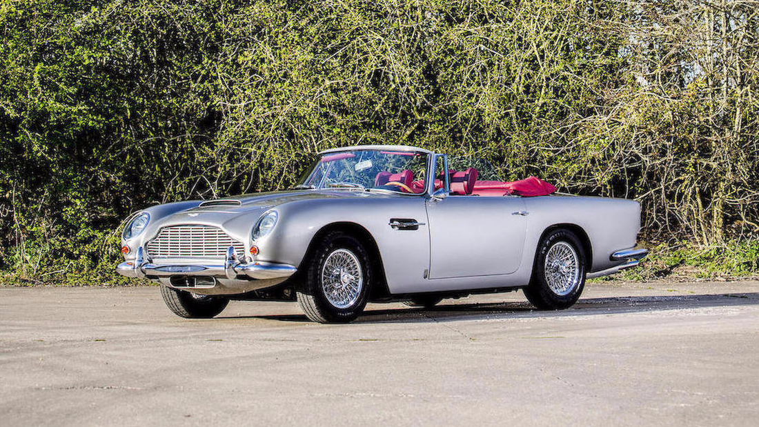 Potentially the top lot of the sale, this immaculate 1966 model is one of only 39 left-hand drive DB5 convertibles ever made, and is expected to fetch up to $1.8 million.