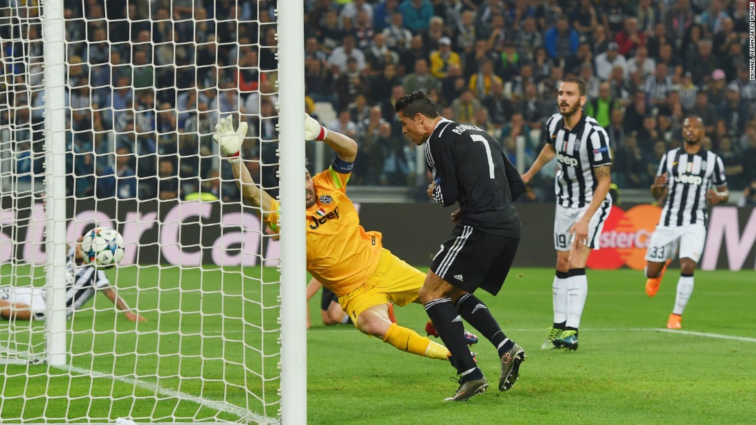 Juventus dominated the opening stages but Real leveled on 27 minutes when Cristiano Ronaldo headed home James Rodriguez's cross to make it 1-1.