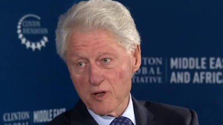 Bill Clinton addresses foundation donations