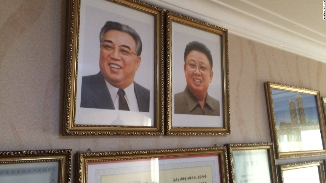 Every home in North Korea displays portraits of late leaders Kim Il Sung and Kim Jong Il. Housing is assigned by the government and is free. Those who want to move have to sign up to exchange places with other citizens.
