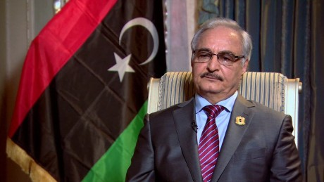 Libya's renegade general calls for offensive on Tripoli