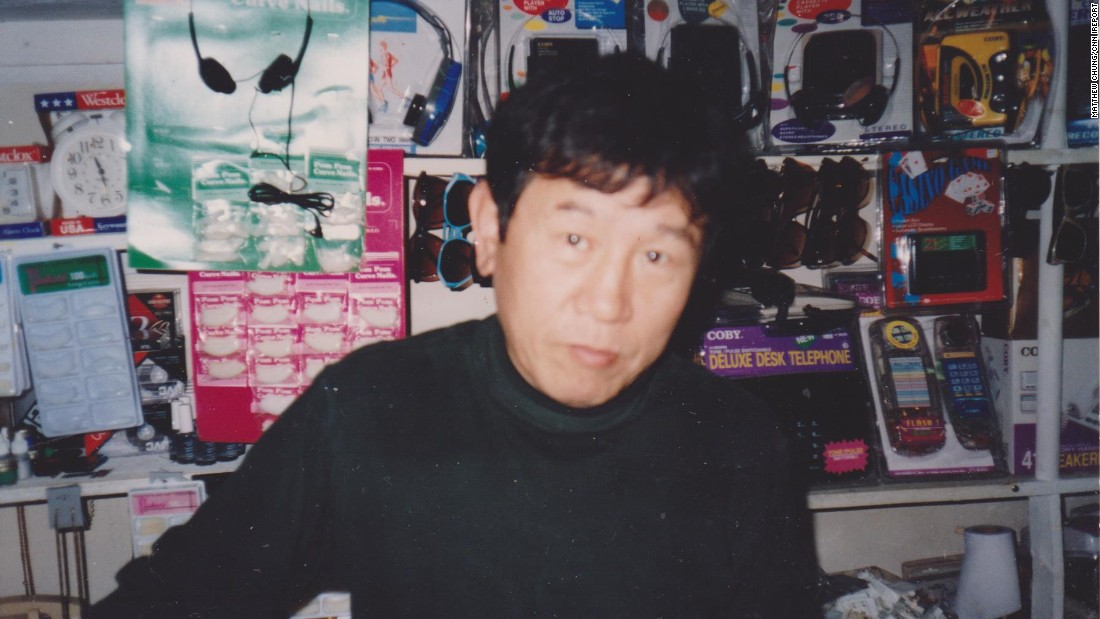 Chung's father manages the store back in the 1980s. The 74-year-old retired from the store prior to the violent protests.