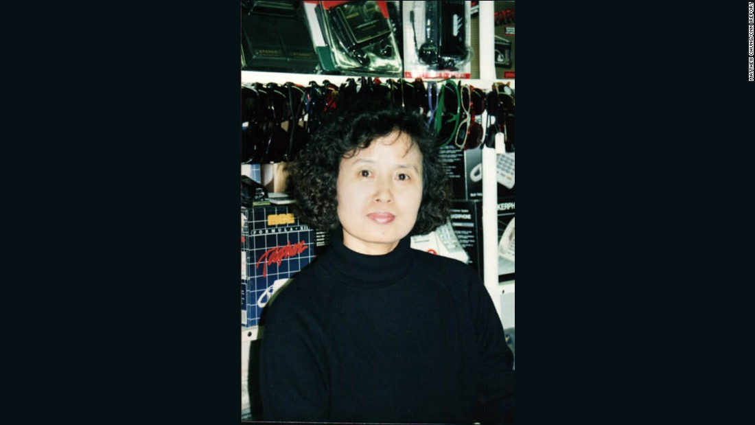 Chung's mother works at the store in the 1980s. Now in her 60s, she has been running J-Mart Wigs on her own. She was planning to retire before the protests broke out.