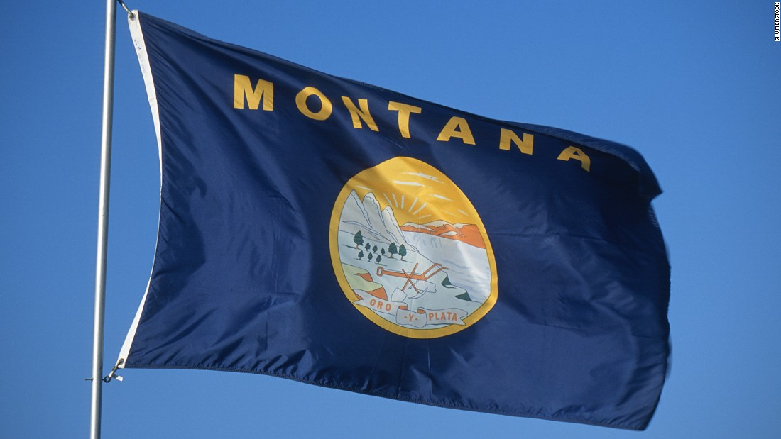 "<strong>The Worst</strong> -- 49. Montana<br />""Here's another state whose symbol has failed its duty -- so the state's name appeared on the flag in 1981."" -- Ted Kaye, author of ""Good Flag, Bad Flag"""