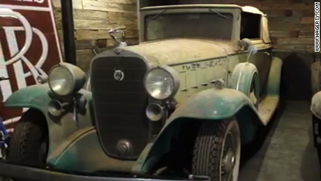 Classic cars headed for auction after 40 years in barn