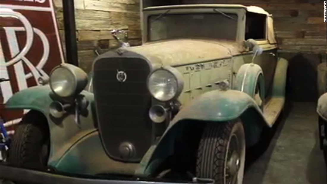 Classic cars headed for auction after 40 years in barn - CNN Video