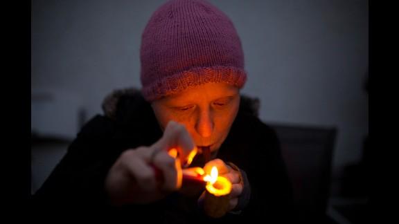 Cheryl smokes marijuana in October to help take the pain of chemotherapy away -- something morphine and anti-nauseants weren