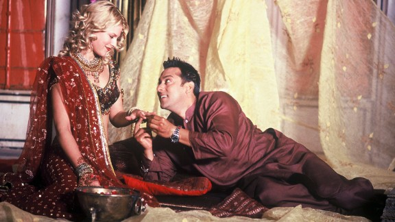 """Ali Larter and Khan perform in the 2007 romantic comedy """"Marigold: An Adventure in India."""""""