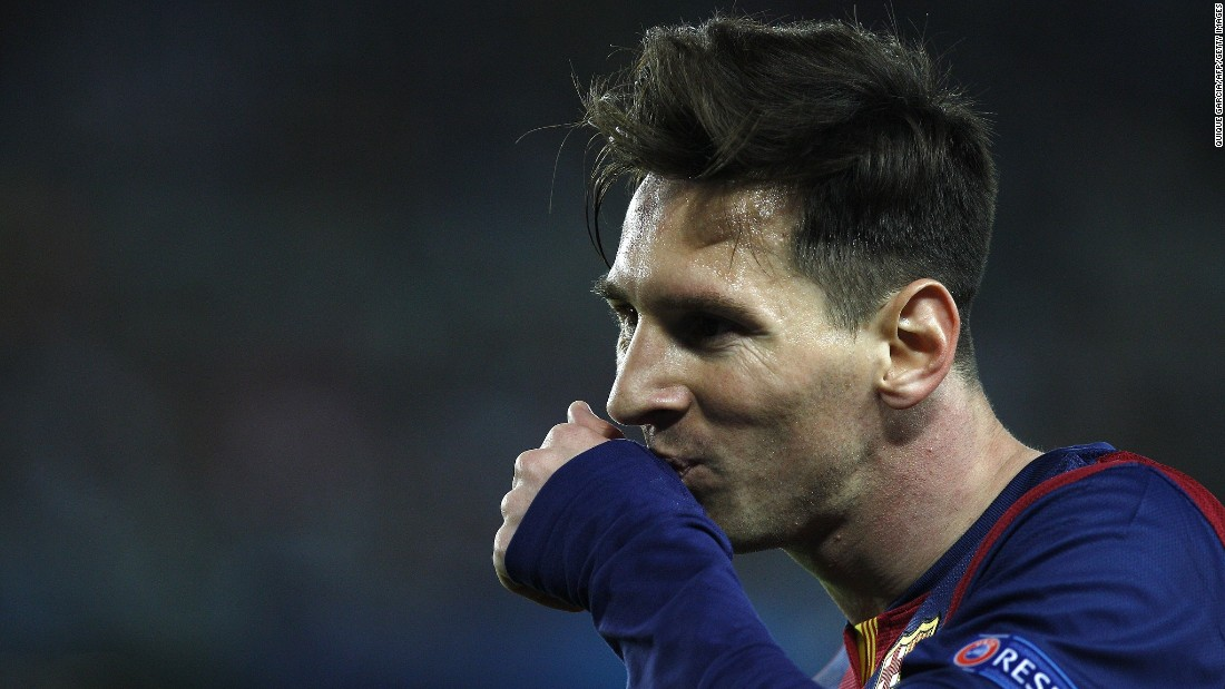 "There are just the 77 Champions League goals to choose from then -- but which one do you rank as Messi's best ever? Tweet us <a href=""https://twitter.com/CNNFC"" target=""_blank"">@CNNFC</a> with your answers or leave us a message on our <a href=""https://www.facebook.com/cnnsport"" target=""_blank"">Facebook page</a>."