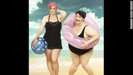 Blake Morrow photographed his friend Elizabeth Beard before her 150-lb. weight  loss and