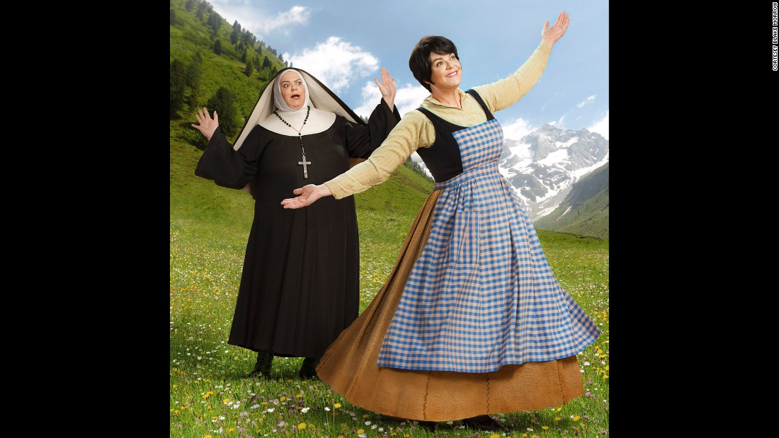 "Julie Andrews, eat your heart out. ""Sound of Music"" Beth takes a turn as both a nun and a governess. The playful scenes were conceived by Morrow, who said Beard acted them out masterfully. ""Blake and I have been friends for years and so it always felt safe on the set,"" Beard said."
