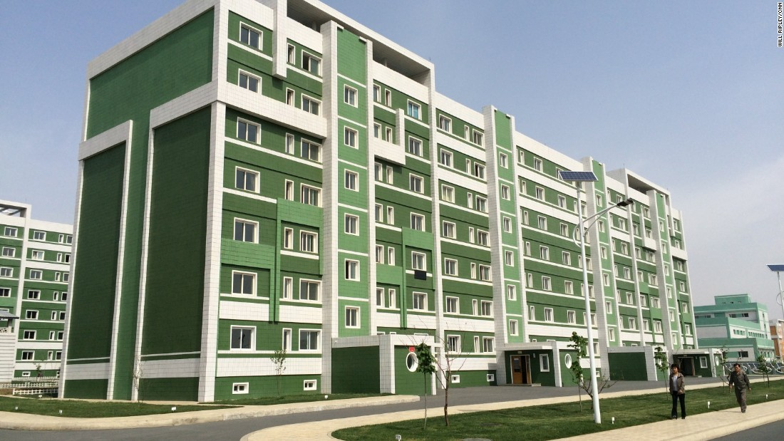 This Pyongyang Housing Complex Was Built Exclusively For Scientists And Their Families