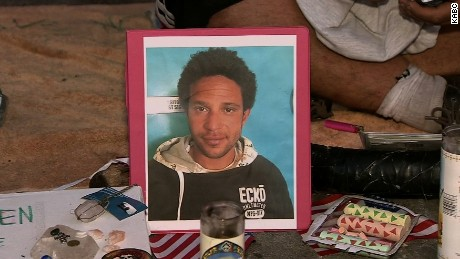 A Los Angeles police officer fatally shoots an unarmed homeless man near Venice Beach. CNN affiliate KABC posted his photograph.